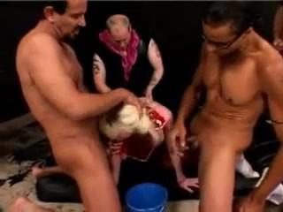 Elina's extreme rough gangbang1 -more at- Pornhubass.com