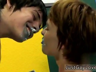 Human boy gay sex pron tube first time They forgo forks and instead lick