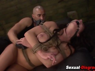 Bdsm slave gets creamed