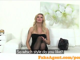 FakeAgent Horny mature babe in casting interview