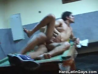 Latinos Ass Fucking On Top Of Billiard Table