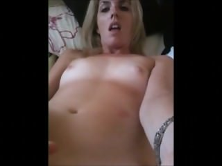 Horny Naked MILF Bitch Masturbates and Cums