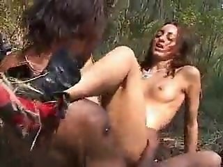 Shaina Beurette French Arab Teen Fucked By BBC Outdoor