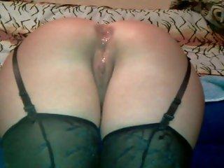 In ass