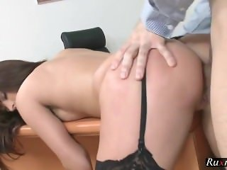 Lydia Lust Amateur Office Sex HD Porn