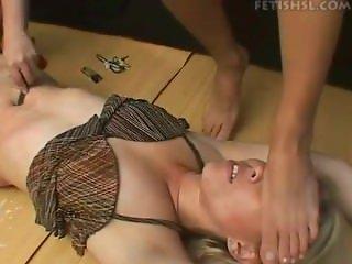 Brazil Belly button torture 3