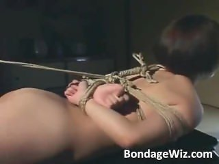 Japanese girl got tied up