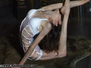 erotic skinny contortion