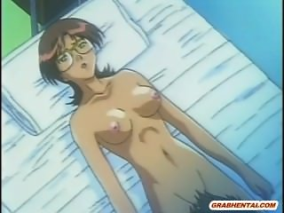 Patient hentai gangbang by naughty doctors