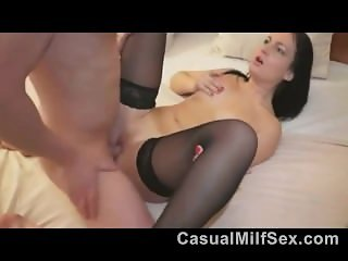 Fucking Young sexy Milf from CasualMilfSex(dot)com in bed
