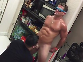 Tricked Straight Guy Gets Swallowed