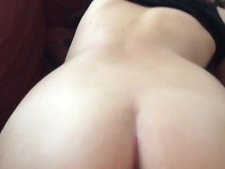 Big ass amateur girlfriend fucked by big thick dick doggy