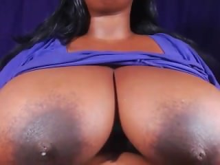 bbw shows big tits and hard nipples 2