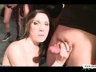 German Goo Girls - Horny MILF extremely thirsty cum lover