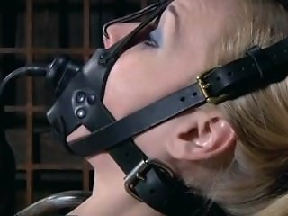 cute blonde tortured