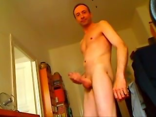 Undressing, wanking and jerking off
