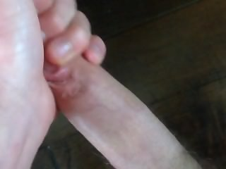 Throbbing dick close-up HD