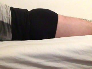 humping in black underwear