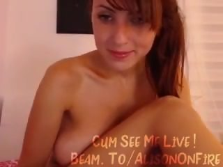 Beam.To/AlisOnFire - Smoking Hot Cam Babe Does It All! #5