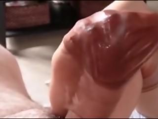 Spewing Hot Cum Inside Stockings