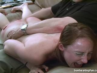 Crystal Clark Spanked !
