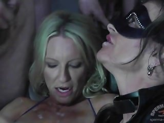 CumBitch Jessy Creampie Bukkake GangBang with Emma Starr 3