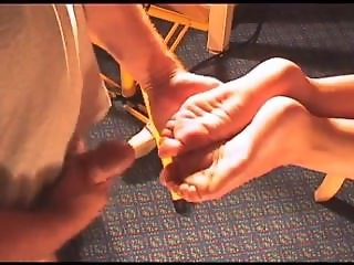 Soccer Mom takes a load on her soles