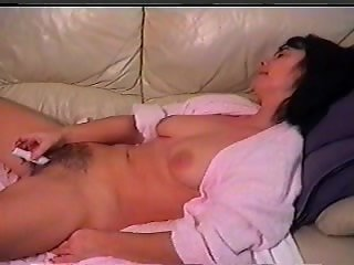 Orgasm makes her nipples erect