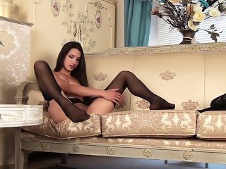 Chelsea French - british solo stockings nylon dirty talk heels