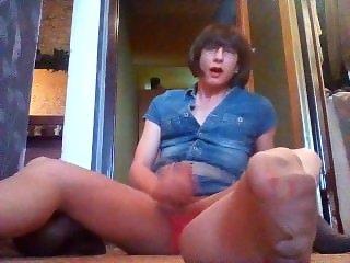 TV Ida masturbation pantyhose