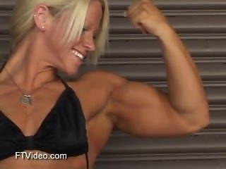 sexy blond muscle