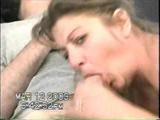 getting a fabulous blow job from wife