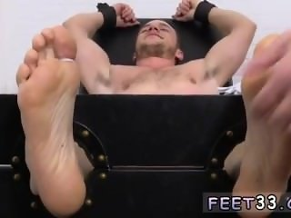 Mature gay sex with immature boy Kenny Tickled In A Straight Jacket