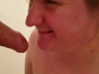 She likes piss in her mouth too