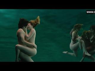 Evan Rachel Wood - Naked Swimming, Topless Perky boobs -Across the Universe