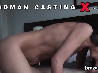 Casting hottie leaves after hardcore penetration and anus nailing