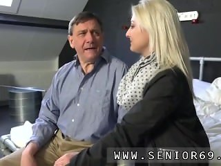 Pervert old man and old young cash Katy gets a journey around Woody's