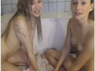 swedish teens lotion and hitachi show