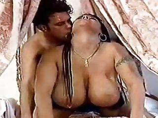 Big natural tits piercing
