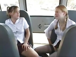 STP Schoolgirls Give Mr Brown A Very Good Ride !