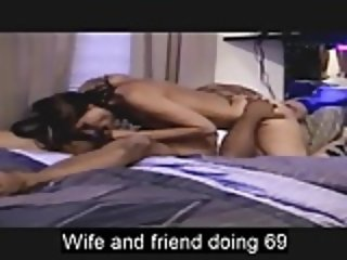 Wife and black friend doing 69