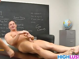 Redhead schoolgirl Melody Jordan gets fucked