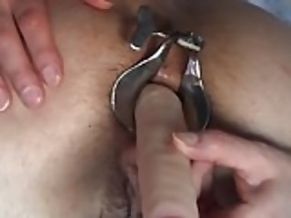 Speculum in ass part 2