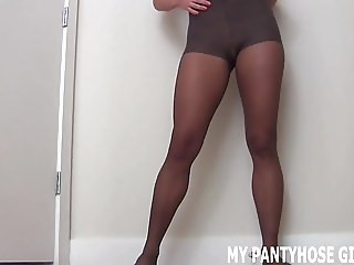 These sexy pantyhose will put a smile on your face JOI