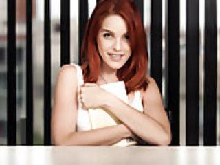 Adorable redhead Armana Miller