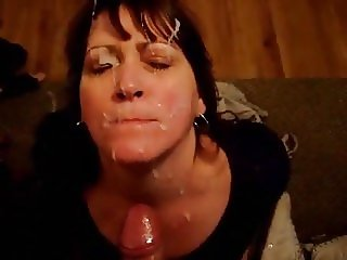 Short clip but very entertaining - submissive 55yo granny