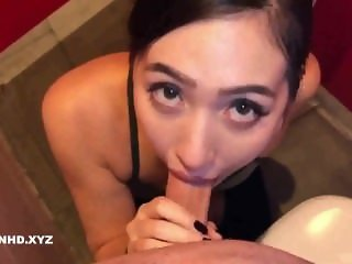 Amateur Chinese Sucking Gym Instructor