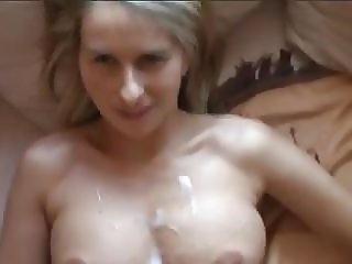 geileblonde Milf anal gefickt