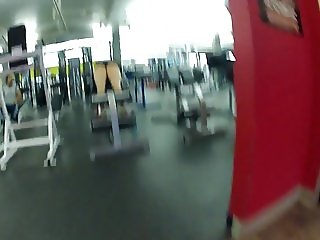 jacking in my pants at the gym 6
