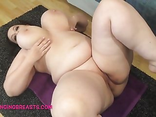 Real big tits on a body made for sex